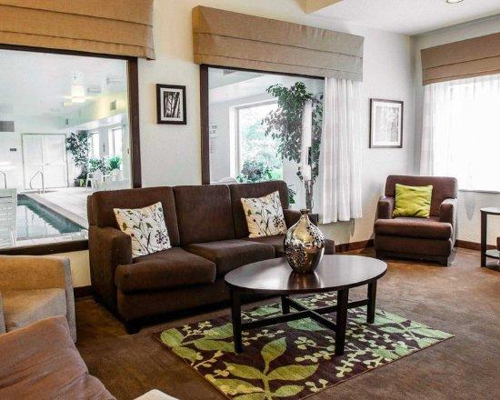 Sleep Inn & Suites Lakeside: Lobby with sitting area