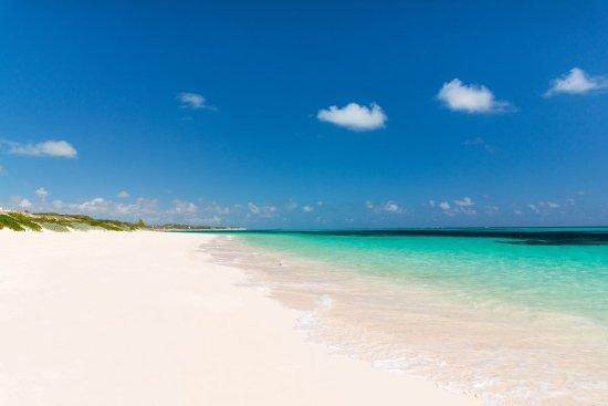 South Caicos: Sailrock Resort Atlantic Ocean East Coast Beach