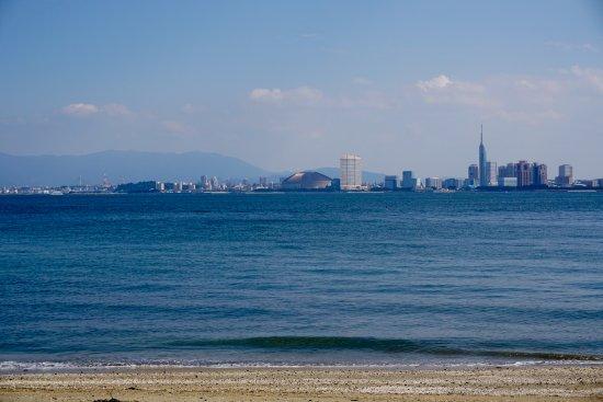 Nokonoshima Island : 対岸に福岡市内
