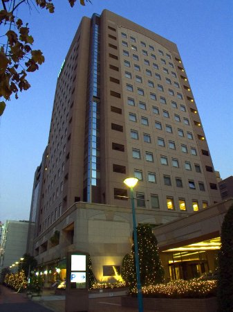 Hotel JAL City Tamachi Tokyo: Exterior night