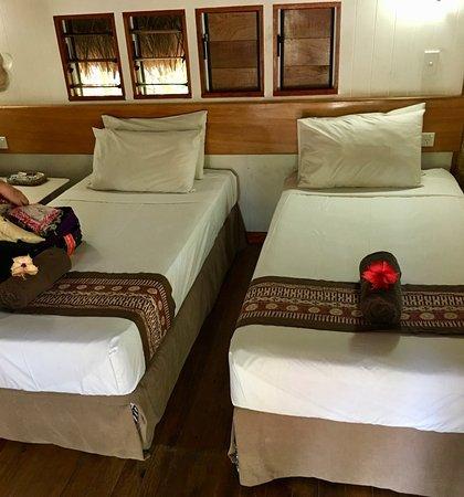 Robinson Crusoe Island Resort: Bed configuration 2 twins