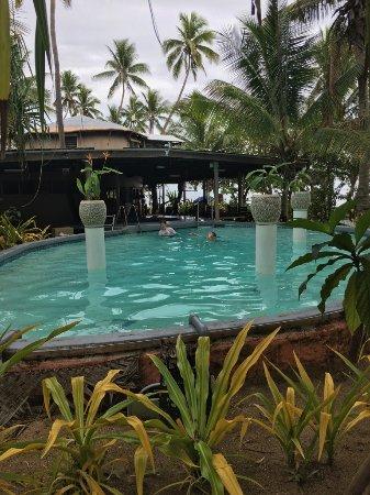 Robinson Crusoe Island Resort: Salt water pool