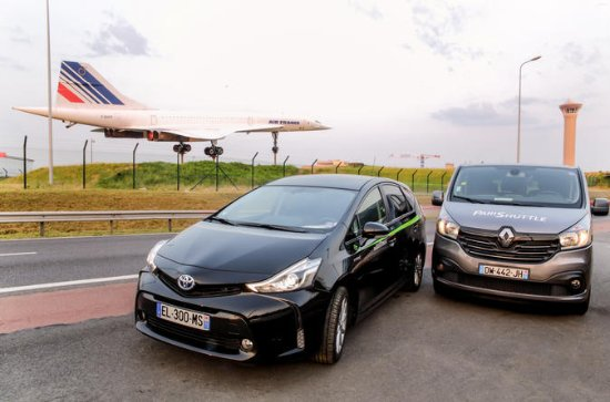 Paris Private Arrival Transfer: Charles de Gaulle or Orly