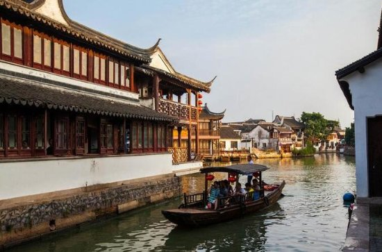 Zhujiajiao Ancient Town and Night ...