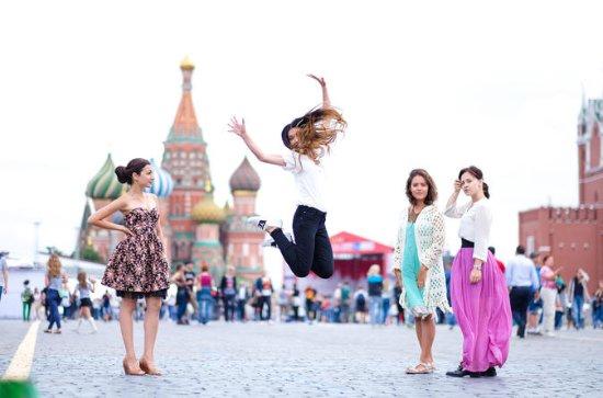 Omita la línea Kremlin y la visita a...