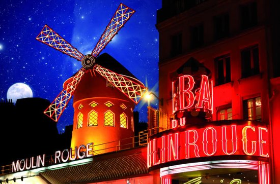 Dinner and Show at the Moulin Rouge with return transfer to Central ...