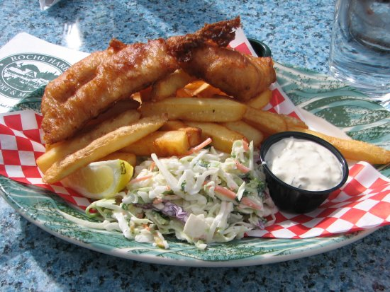 Roche Harbor, WA: Fish and Chips