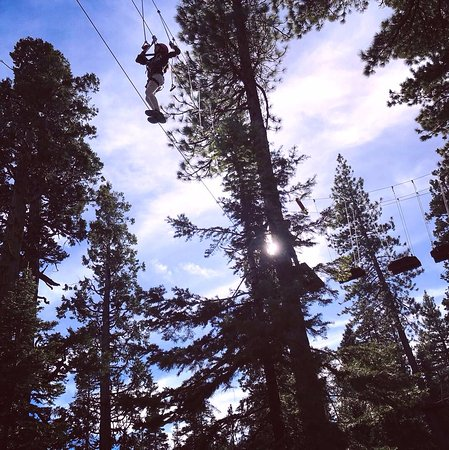 Tahoe City, CA: Tight Rope - Monkey Course