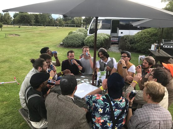 Hanmer Springs, New Zealand: Mel and her staff at pitch and putt have done job  at running a fun activity for a stag event fo
