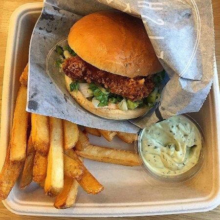 WestMarket: Fish Burger menu