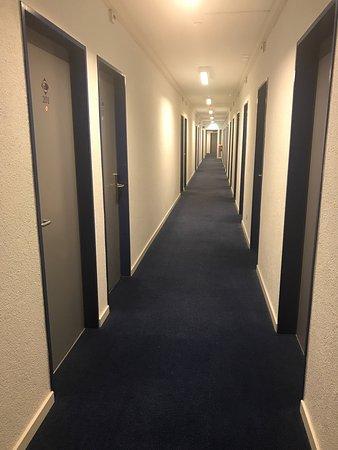 City Hostel Geneva: Corredor del piso 2