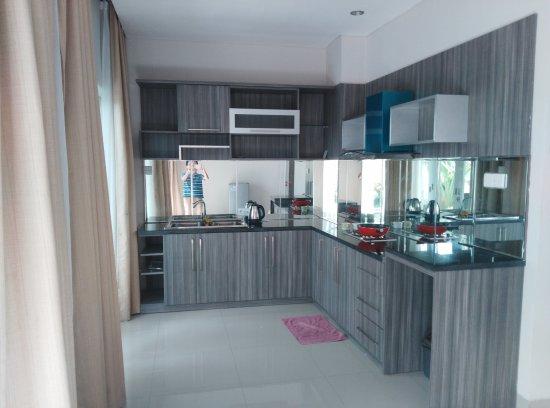 Paradise Loft Villas Jimbaran Dapur Lengkap Dengan Alat Masak Dan Makan Microwave Serta