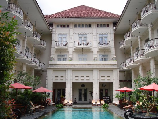The Phoenix Hotel Yogyakarta - MGallery Collection: Outdoor pool near the gym and the spa