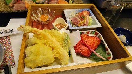 Ishikari, Japon : 夕食のメイン