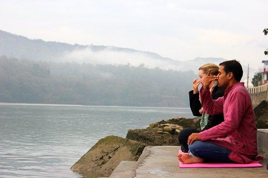 Complimentary Evening Meditation Classes @ Hotel Ganga Kinare