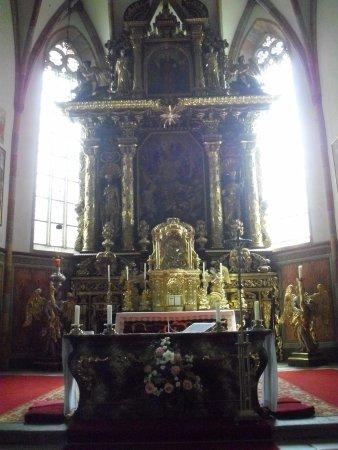 Millstatt, Austria: altare