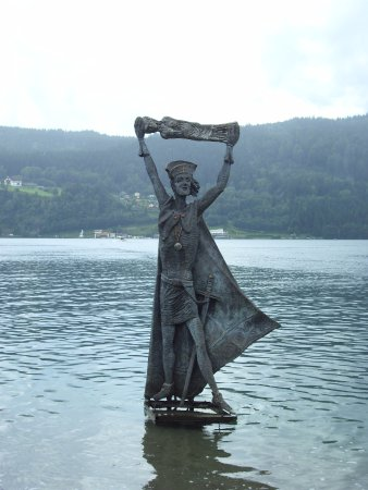 statua di Augusto a millstatt