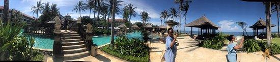 Conrad Bali: Landscape picture of the resort