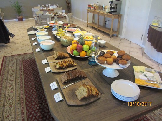 Hlangana Lodge: Part of the breakfast spread