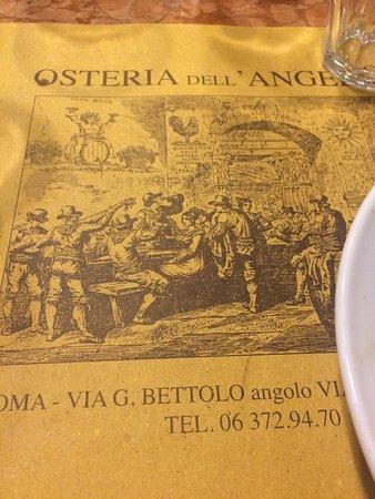 Ristorante osteria dell 39 angelo in roma con cucina cucina - Cucina romana roma ...