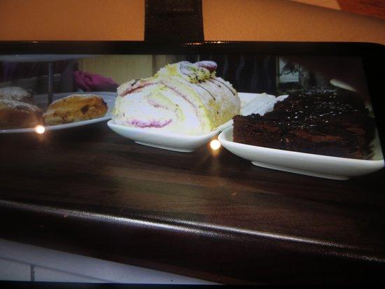 Castlebar, Irlanda: Selection of Desserts at Cafe Nova