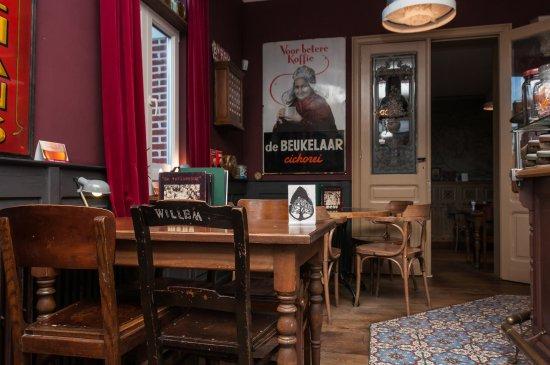 Herselt, België: Met Willem Elsschot aan tafel
