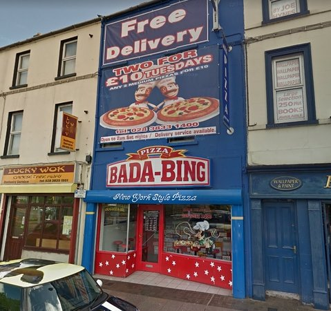 Best Pizza In Portadown Badabing Craigavon Traveller