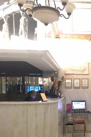 Marble House: The Unfriendly Front Desk