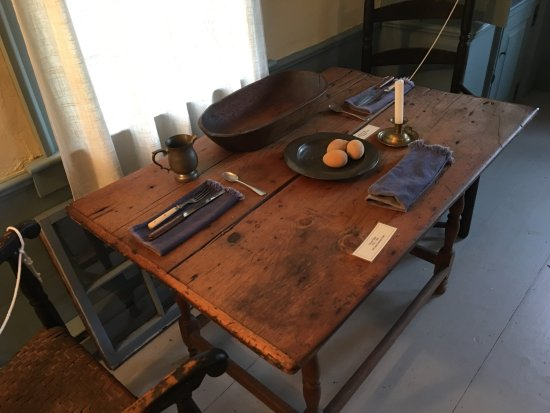 Job Lane House: Authentic Table Setting