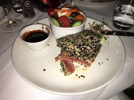 Paranga: der erste Thunfisch war perfekt gegart, zart und die Qualität einfach nur köstlich