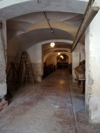 Casalzuigno, Italien: Le vaste cantine