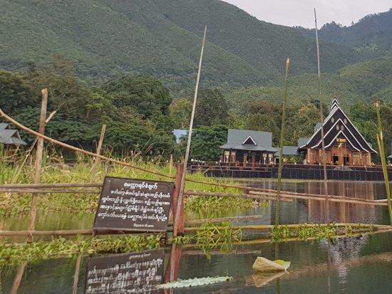 the hotel from the lake picture of the serenity inle resort rh tripadvisor co za