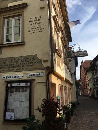 Eberbach, Jerman: Gasthaus zum Krabbenstein