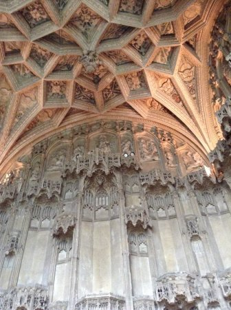 Ely, UK: Superb chapel ceiling
