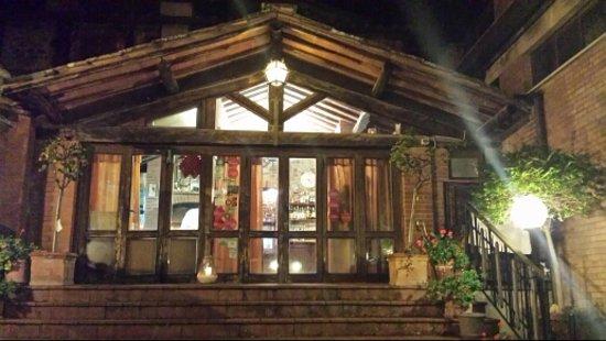 La Taverna di Vagliagli : ingresso