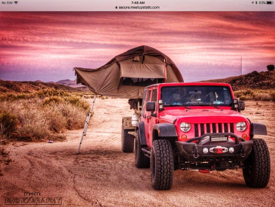 Mojave Trail My Rig; Jeep Wrangler M8A1 Mule off road trailer with Roof & My Rig; Jeep Wrangler M8A1 Mule off road trailer with Roof Top ...