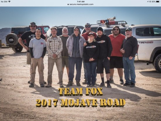 Mojave, Californien: Our team!