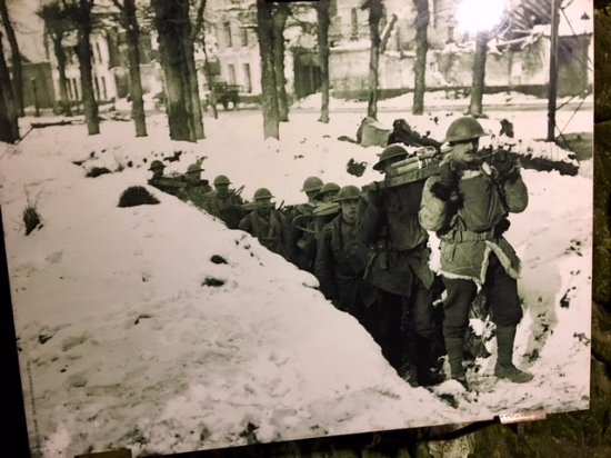 Les Boves Tour: During the War