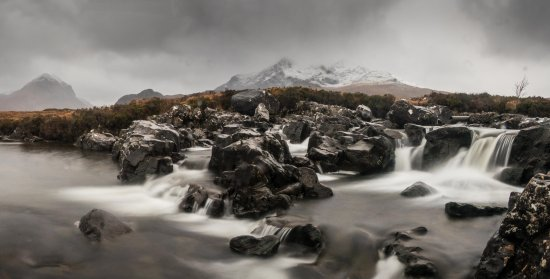 Creative Photography Wales: Red Cuillins