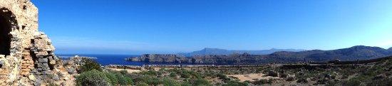 Gramvousa, Griechenland: Aussicht