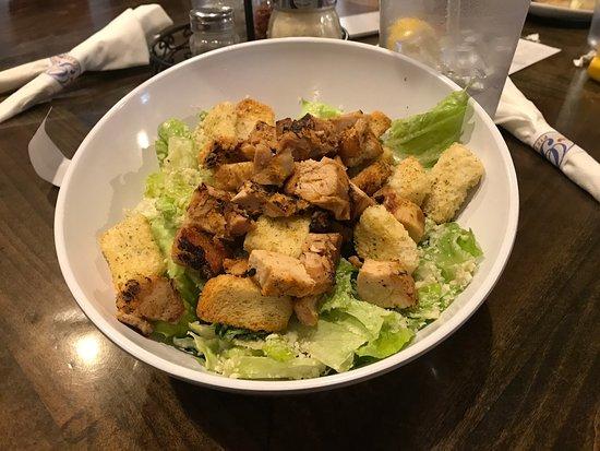 Lake Orion, MI: Chicken Caesar salad