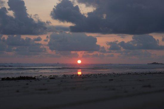 Nosara Beach (Playa Guiones): Sonnenuntergang 2