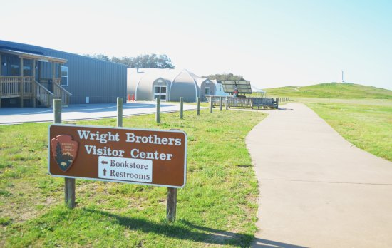 Wright Brothers National Memorial: ingresso principale