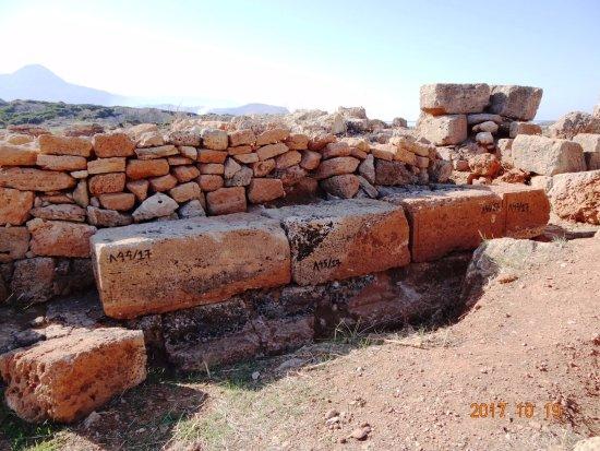 Falassarna, Grecja: Die archäologische Stätte