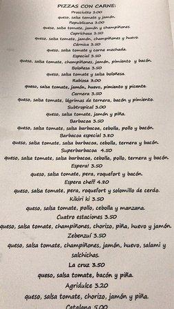 Punta del Hidalgo, España: Very good pizza, amazing price. A nice place to visit.