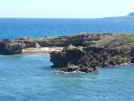 Boca de Yuma, Доминикана: Vista desde la costa.