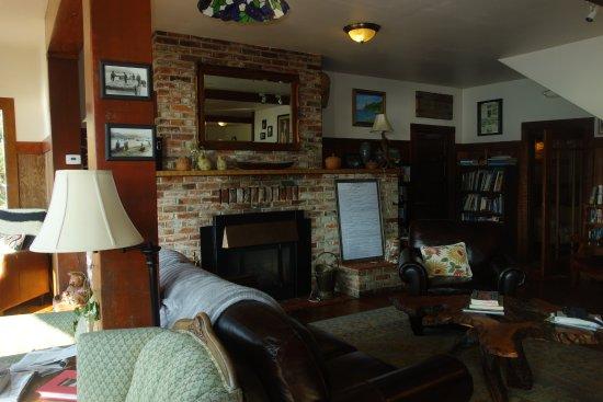 Historic Requa Inn: le salon