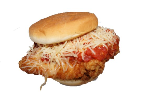 Taylorsville, Кентукки: Chicken Parm Sandwich