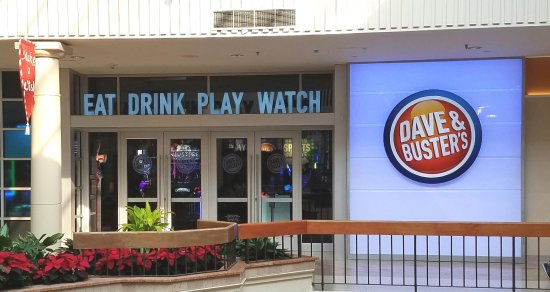 a144232e6 Mall entrance to Dave and Busters - Picture of Dave   Buster s ...
