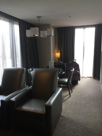 Harrah's Cherokee Hotel: Welcome To Room #1544